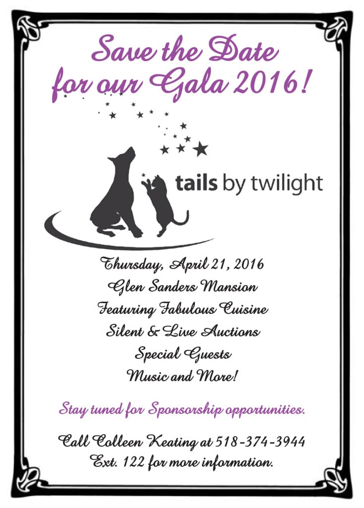 Save the Date 2016 Gala ad