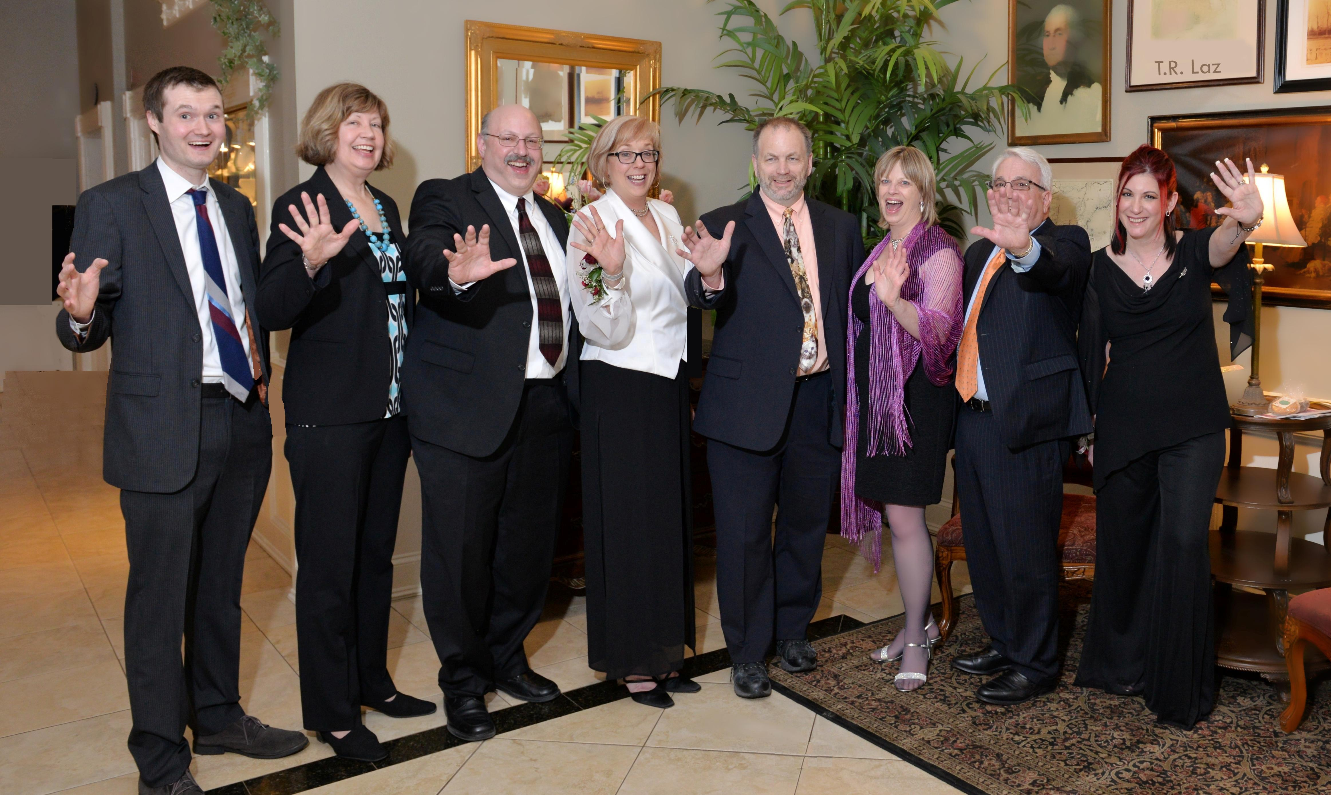 Executive Director Deb Balliet with a few of our wonderful board members